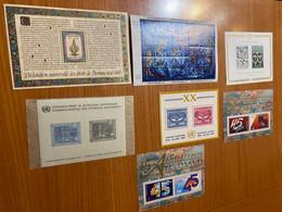 Lot De 7 Blocs - Nations - Unies ( Voire Scan) - Collections, Lots & Séries