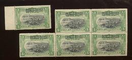 40 Surch TYPO Du 5c.  6 Ex Sans Colle. Cote 42-en Ø - 1894-1923 Mols: Nuovi