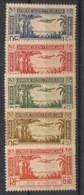 Côte D'Ivoire - 1940 - Poste Aérienne PA N°Yv. 1 à 5 - Série Complète - Neuf Luxe ** / MNH / Postfrisch - Ungebraucht
