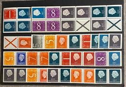 Restantje Nederland Postfris MNH*** Rolzegels En Uit Boekjes - Collections
