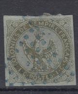 #153# COLONIES GENERALES N° 1 Oblitéré Losange De Points Bleus (Réunion) - Águila Imperial