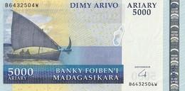 5000 Ariary Madagascar 2004 - Madagascar