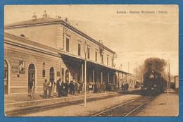 GORIZIA STAZIONE MERIDIONALE INTERNO CON TRENO VG. 1924 N°B24 - Gorizia
