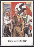 Deutsches Reich - 1938 - Propagandakarte - Und Ihr Habt Doch Gesiegt - München Hauptstadt Der Bewegung - Sonderstempel - Stamped Stationery