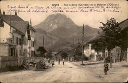 France - Frankrijk - Cruyere - Rue A Broc Et Le Moleson - 1910 - Non Classificati