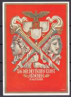 Deutsches Reich - 1939 - Propagandakarte - TAG DER DEUTSCHEN KUNST - München Hauptstadt Der Bewegung - Sonderstempel - Stamped Stationery