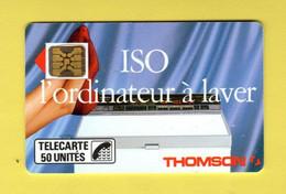 F46Bbis 640 - Iso Thomson 50 Unités - Sc4on - Verso Trait Fin - 6 N° Impact - Cote 70 Euros - TBE - 1989