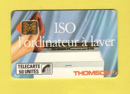 """F46C 610 - Iso Thomson 50 Unités - Sc4on S/E - Offset """"carton"""" - 6 N° PE -  Cote 40 Euros - TBE - 1989"""