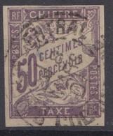 #153# COLONIES GENERALES TAXE N° 23 Oblitéré Saigon Central (Cochinchine) - Portomarken