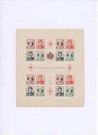 MONACO.1949. 2 BLOC-FEUILLETS DENTELES ET NON-DENTELES NEUF**.THEMES:CROIX-ROUGE.CELEBRITES.ARTS.- - Blocks & Sheetlets