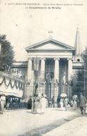 13 - Saint Remy De Provence - Eglise Saint Martin, Parée En L'honneur Du Cinquantenaire De Mireille - Saint-Remy-de-Provence