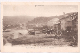 CPA -  Martinique - Ruines Du Maitre-Autel De La Cathédrale De St-Pierre - Unclassified
