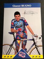 Gianni Bugno - MAPEI - 1997 - Carte / Card - Cyclists - Cyclisme - Ciclismo -wielrennen - Cycling