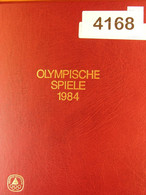 OLYMPIC GAMES 1984 - Special Album - (4168) - Colourful Lot - - Collections (with Albums)
