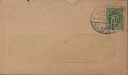 Equateur YT 268 Surcharge Asamblea Ncnal 1928 20 CTVOS Guayaquil Banco Del Ecuador Depositado En La Officina - Equateur