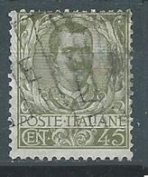 Italie YT N°71 Victor-Emmanuel III Oblitéré ° - Usados
