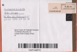 BELGIO - BELGIE - BELGIQUE - 2020 - Fragment - BPack WD LT EU 2KG - € 26,10 - Viaggiata Da Dour Per Cesena, Italia - Cartas