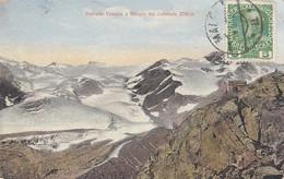 CUSIANO-OSSANA-TRENTO-VEDRETTA VENEZIA E RIFUGIO DEL CEVEDALE-CARTOLINA  VIAGGIATA IL 19-8-1913 - Trento