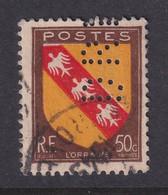 Perforé/perfin/lochung France 1946 No 757 DRF (98) - Perforés