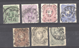 Allemagne  -  Reich  :  Yv  30-35  (o)  Belles Oblitérations - Used Stamps