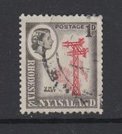 Rhodesia & Nyasaland, Scott 159a (SG 19a), Used - Rhodesien & Nyasaland (1954-1963)