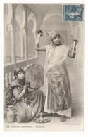ALGERIE / INTERIEUR MAURESQUE / LA DANSE ( Thé, Tambourin, Bijoux ) / Edit. J. GEISER , Alger  N° 323 - Women
