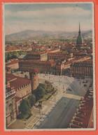 ITALIA - ITALY - ITALIE - 1949 - 6 Democratica + Flamme - Torino - Panorama A Colori -Viaggiata Da Torino Per Guidizzolo - Panoramic Views