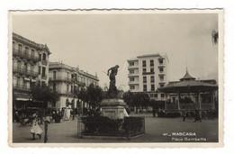 ALGERIE / MASCARA / PLACE GAMBETTA  ( Kiosque à Musique Et Statue ) - Otras Ciudades