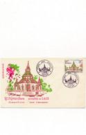 Enveloppe Premier Jour D'emission 1965 Vientiane ( Recto Verso ) ROYAUME DU LAOS - Laos