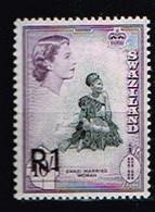 SWAZILAND / Neuf**/MNH** / 1961 - Série Courante(une Valeur) Surchargés / YVT N°77 - MI.78I - Swaziland (...-1967)