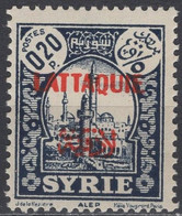 Lattaquie - Definitive - 0.20 Pia - City Of Alep - Mi 66 - 1931 - Neufs
