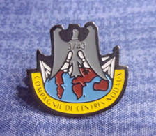 Pin's 3° Compagnie 40° Régiment De Transmissions - Thionville - Moselle - Militares