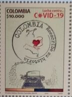 RA) 2020, COLOMBIA, FIGHT AGAINST PANDEMIC, COLOMBIA REWRITES ITS HISTORY, MNH - Colombia