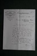 Facture Ancienne - EPINAL, KAMPMANN Et Cie, Fabrique De Chapeaux De Paille. - 1800 – 1899
