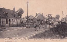 """LA NEUVILLE """" Route De St Gobain Animée""""    N°8502 - Unclassified"""
