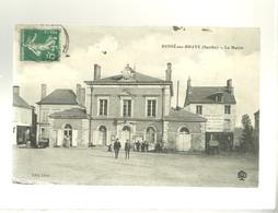 72 Bessé Sur Braye La Mairie édit. Léon JRN , Gorse Coudert Ferrailleur Chiffonnier Charbon - Otros Municipios