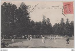 LE MONT DORE LA PELOUSE DU CAPUCIN JEU DE CRICKET 1905 TBE - Le Mont Dore