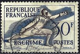 France 1953 - Mi 980 - YT 962 ( Helsinky Olympics : Fencing ) - Sommer 1952: Helsinki