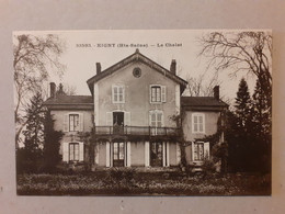 CPA - 70 - RIGNY - Le Chalet - Andere Gemeenten