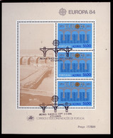 Açores - Azores - Azoren - Portugal Bloc Feuillet 1984 Y&T N°BF5 - Michel N°B5 (o) - 51e EUROPA - Azores