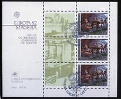 Madère - Madeira - Portugal Bloc Feuillet 1982 Y&T N°BF3 - Michel N°B3 (o) - 33,50e EUROPA - Madeira