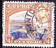 Zypern Cyprus Chypre - König Georg VI. + Vouni (MiNr: 136) 1938 - Gest Used Obl - Cipro (...-1960)