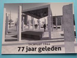 DEURNE Vredesmonument ( Bedrukte Herinneringskaart / Vredescentrum ) Anno 19?? ( Zie Foto ) ! - Antwerpen
