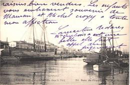 FR30 LE GRAU DU ROI - Bazar Du Progrès 3 - Un Deux Mats - Voilier Bateau Remorqueur - Belle - Le Grau-du-Roi