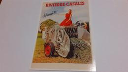 CARTE POSTALE RIVIERE CASALIS - Advertising