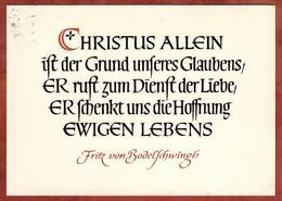 Spruch, Fritz Von Bodelschwingh (3357) - Other
