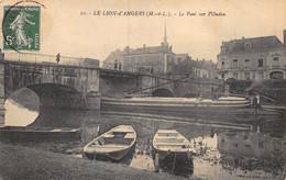 21-2646 : LE LION-D'ANGERS. L'OUDON. LE PORT. MARINE DE LOIRE. BATEAU. GABARRE. PENICHE - Altri Comuni