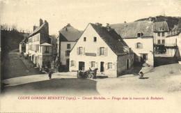 COUPE GORDON BENNET (1905) Circuit Michelin Descente Et Virages Dans La Traversée De Rochefort Voiture Restaurant RV - Sin Clasificación