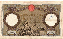 Italia - 100 Lire 1937 Aquila - 100 Lire