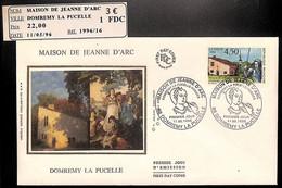 [405722]B/TB//-France  - (88) Domremy La Pucelle, Maison De Jeanne D'Arc, Peintures & Tableaux, Arts - Sonstige
